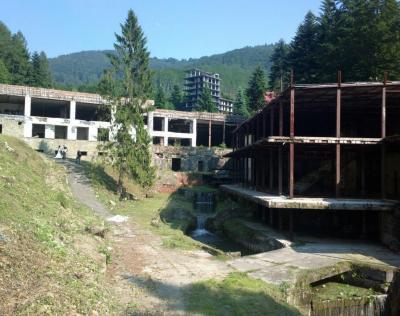 Kozubnik - Opuszczony Kurort Wypoczynkowy