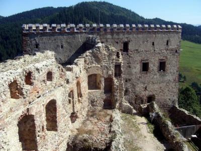 Zamek Lubowelski - Słowacja
