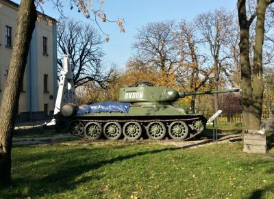 Park Militarny przy muzeum Sztygarka
