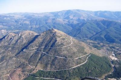 Góra Monte Farhino - Portugalia