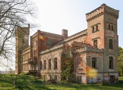 Ruiny Zamku Hohenlandin, Niemcy