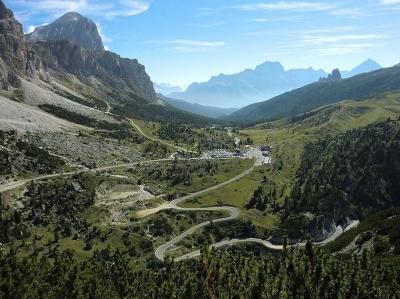 Falzarego Pass - Przełęcz
