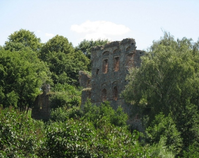 Międzygórz - Ruiny Zamku