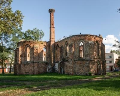 Ruiny Kościoła Świętej Trójcy - Bierutów