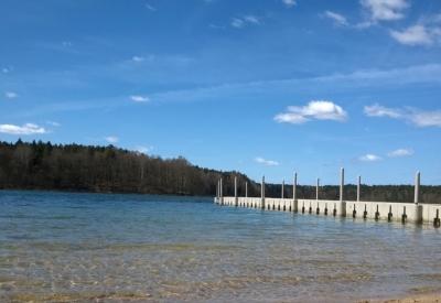 Jezioro Płotki - Plaża