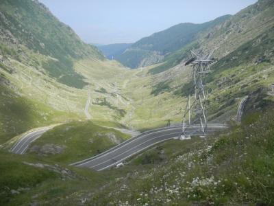 Przełęcz i trasa Transfogarska