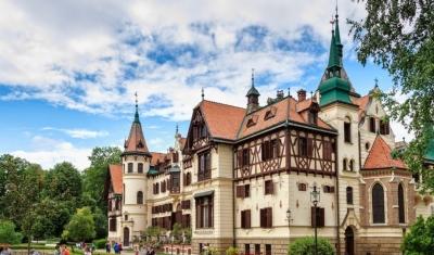 Zamek i ZOO Leśna - Czechy
