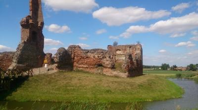 Zamek w Basiekierach