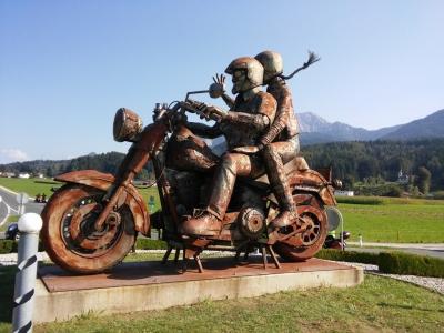 Pomnik Harley-Davidson Fat Bob