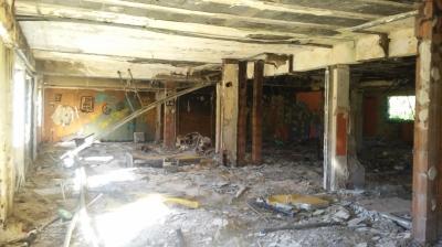 Spalony Hotel