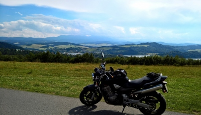 Punkt widokowy na jezioro Czorsztyńskie