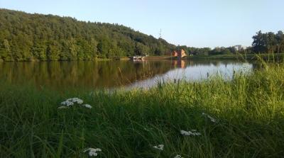 Elektrownia Wodna - Łapino