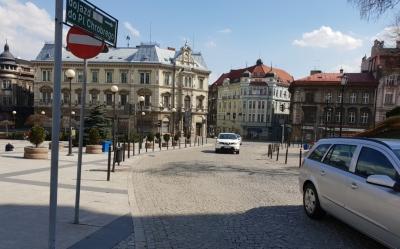 Bielsko Biała - Rynek i ul. Schodowa