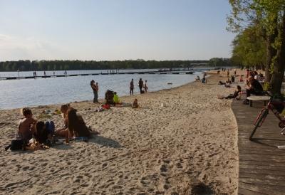 Jezioro Paprocańskie - Tychy