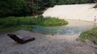 Zakole rzeki koło Bukowna