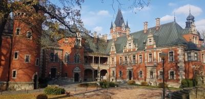 Zespół pałacowo-parkowy - pałac.