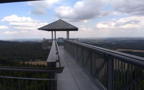 Góra Graniczna - wieża widokowa