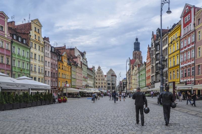 Rynek we Wrocławiu.