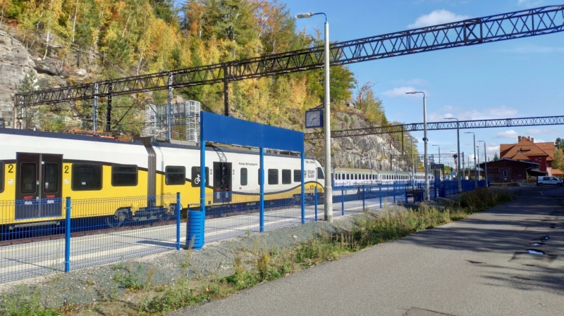 Szklarska Poręba - Stacja kolejowa i punkt widokowy
